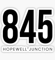 Hopewell Junction, NY - 845 Area Code Sticker