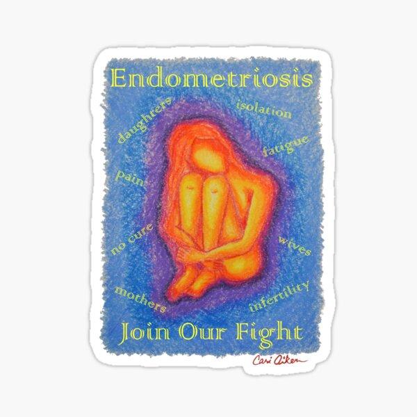 Endo Girl 1 Sticker