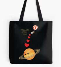 Cassini falling for Saturn: The Grand Finale Tote Bag