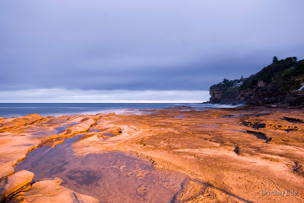Sunrise at Dee Why by Bradley Ede
