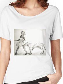 Strange Friends Women's Relaxed Fit T-Shirt