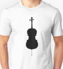 Cello Silhouette Unisex T-Shirt