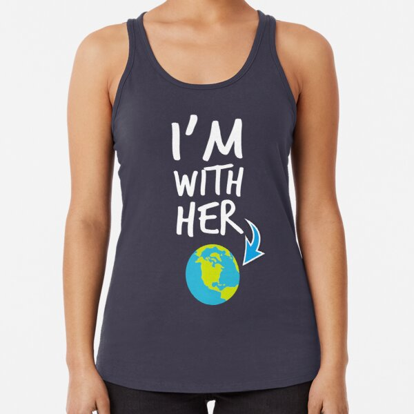 GEEK TEEZ Hillary Clinton Im with Her Election Mens Tank Top