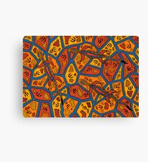 Barni - (goanna) lalin season (summer) Canvas Print