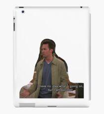 chandler bing iPad Case/Skin