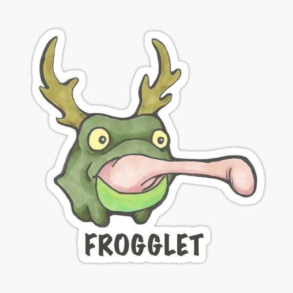 Frogglet Sticker