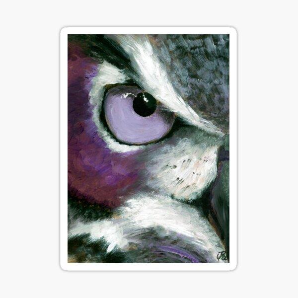 Mono Owl Sticker