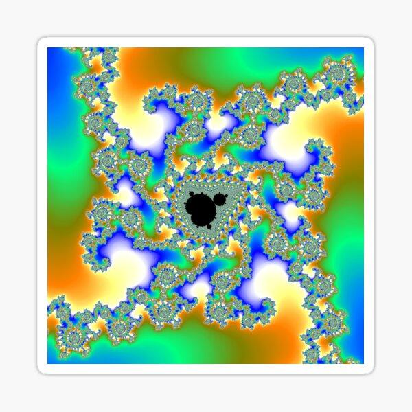 Tendrils: Mandelbrot Fractal! Sticker