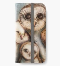 three wise owls iPhone Wallet/Case/Skin