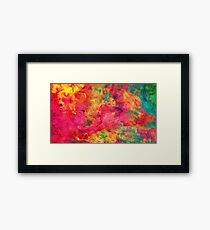 Acrylic - Watercolor Framed Print