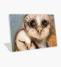 three wise owls Laptop Skin