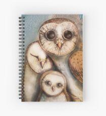 three wise owls Spiral Notebook