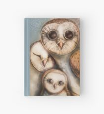 three wise owls Hardcover Journal