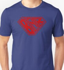 Black SuperEmpowered (Red) Unisex T-Shirt