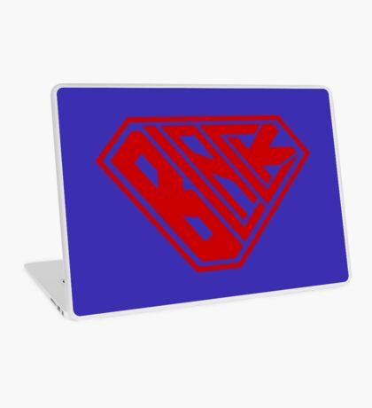 Black SuperEmpowered (Red) Laptop Skin