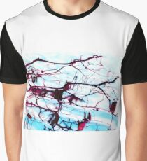 Reflections of Tree Branches in Water Graphic T-Shirt