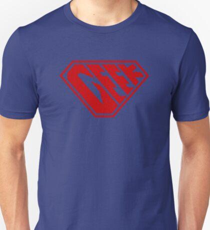Geek SuperEmpowered (Red) T-Shirt