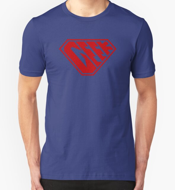 Geek SuperEmpowered (Red) by Carbon-Fibre Media