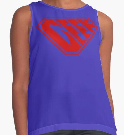 Geek SuperEmpowered (Red) Contrast Tank