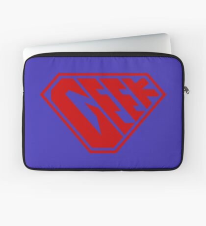 Geek SuperEmpowered (Red) Laptop Sleeve