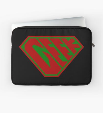 Geek SuperEmpowered (Red and Green) Laptop Sleeve