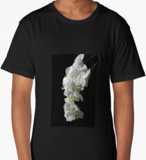 White Orchids Long T-Shirt