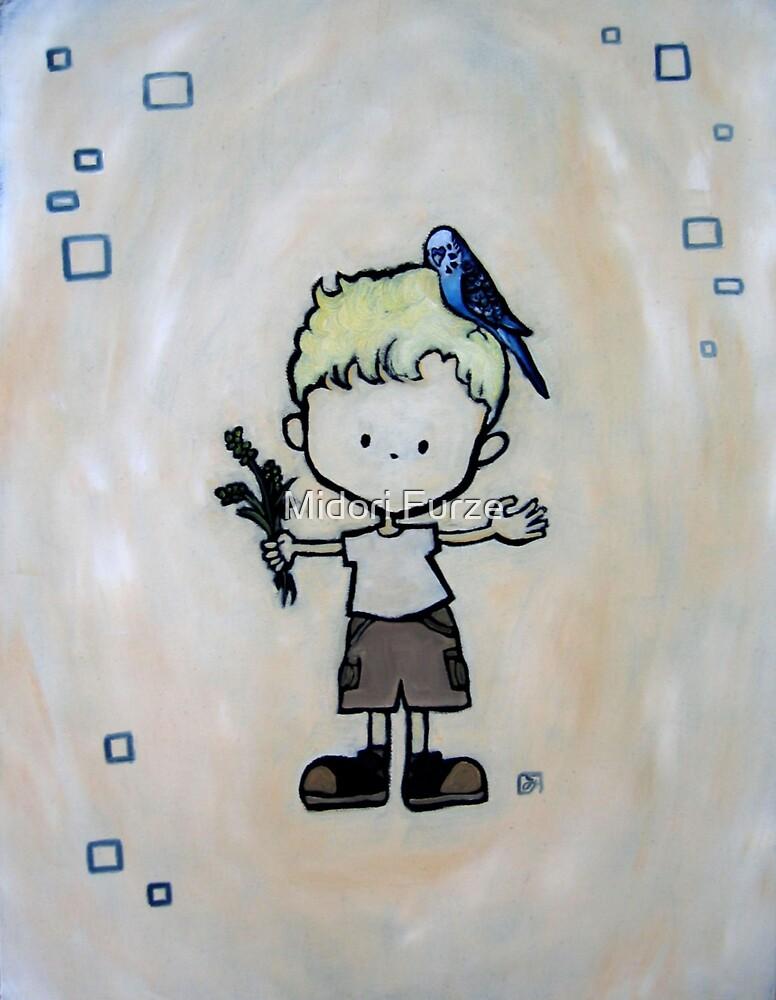 Budgie Boy by Midori Furze