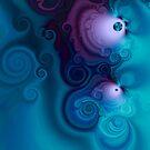 Dark Whirlpools 4 by Richard Maier