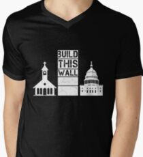 Build This Wall Men's V-Neck T-Shirt