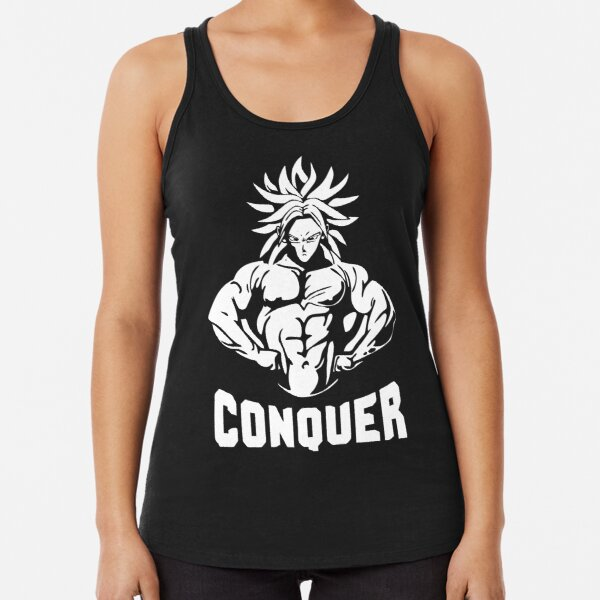 Conquer Racerback Tank Top
