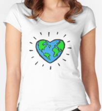 Love Mother Earth Women's Fitted Scoop T-Shirt
