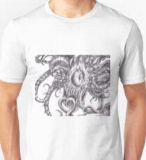 Beholder (Black and White Version) Unisex T-Shirt