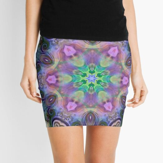 Coiled Reflections 5 Mini Skirt