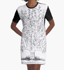 The Common Law in the Simultude of a Tree Graphic T-Shirt Dress