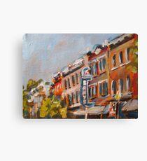 300N Block, Franklin, TN Canvas Print
