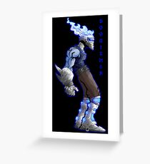 boogie-man concept Greeting Card