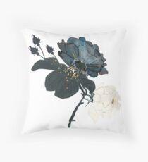 Night garden roses - dancing duo Throw Pillow