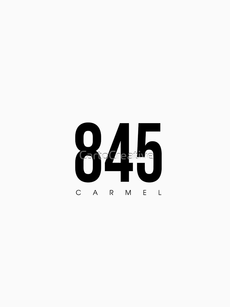 Carmel, NY - Postleitzahl 845 von CartoCreative