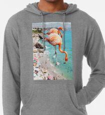 Flamingos am Strand #redbubble #decor Leichter Hoodie