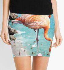 Flamingos am Strand #redbubble #decor Minirock