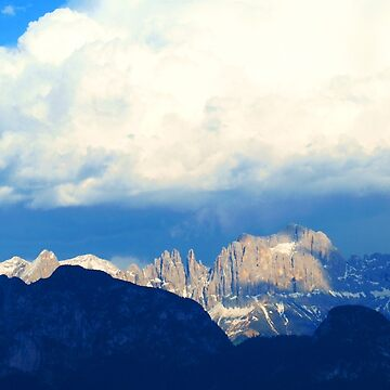 Evening in the Dolomites by MelvaVivian