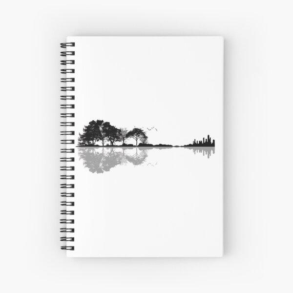 Nature Guitar Spiral Notebook