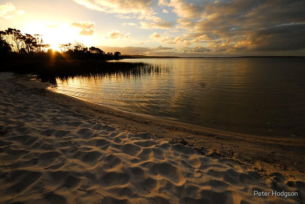 Lake Jasper Sunset by Peter Hodgson