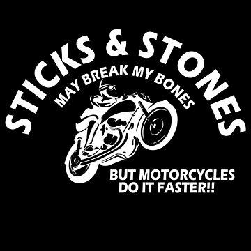 Sticks and stone may break my bones white by Chisafa