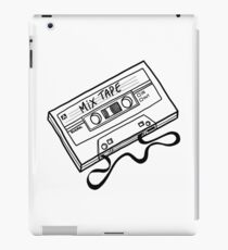 80s Mix Tape lineart iPad Case/Skin