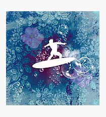 Sport, surfboarder Photographic Print