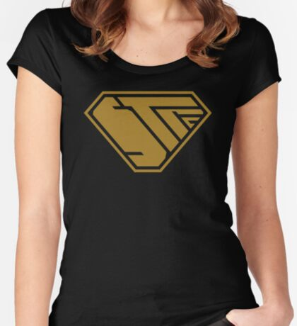 STPC SuperEmpowered (Gold) Fitted Scoop T-Shirt