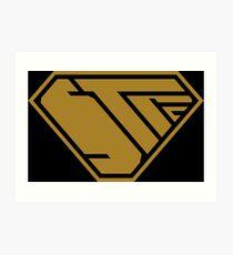STPC SuperEmpowered (Gold) Art Print