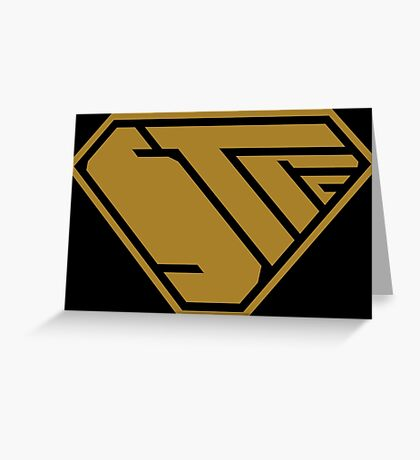 STPC SuperEmpowered (Gold) Greeting Card