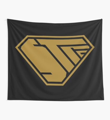 STPC SuperEmpowered (Gold) Wall Tapestry